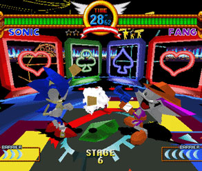 Sonic the Fighters Casino Nights