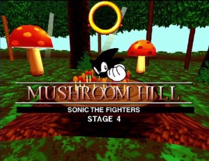 Sonic the Fighters Mushroom Hill Zone