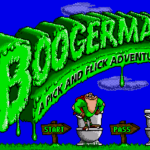 Boogerman: A Pick and Flick Adventure – Sega Genesis