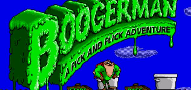 Boogerman: A Pick and Flick Adventure – Sega Genesis