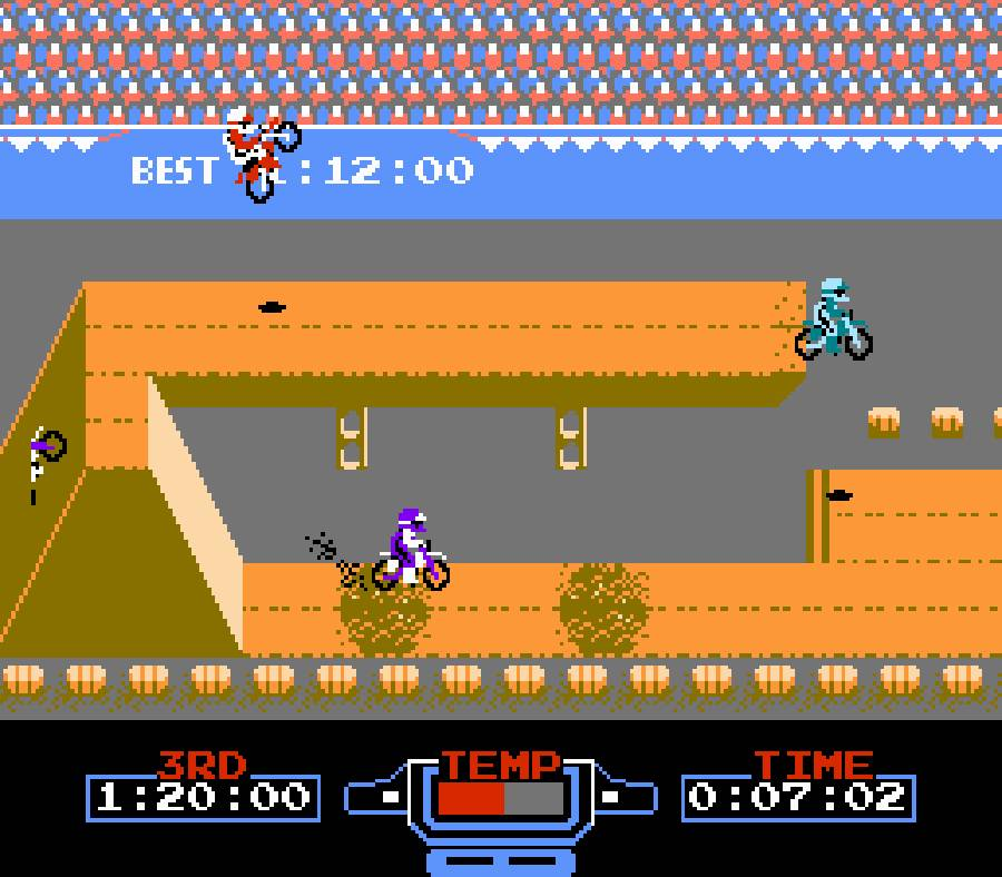 excitebike nes