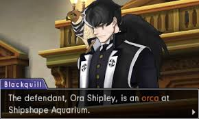 Yes, you defend an orca from prosecutor Blackquill, a deathrow criminal. (DLC)