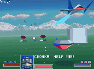 star fox super nintendo screenshot