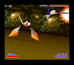 star fox boss fight