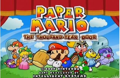 Paper Mario: The Thousand-Year Door – GameCube
