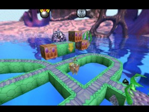 Lode Runner 3-D world 3