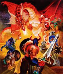 The demon dragon Gildiss