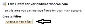 Setup Spam Filter 2