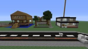 Minecraft - houses