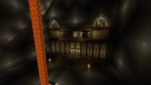 Minecraft - Blarg Skycastle pit mansion