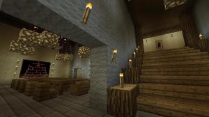 Minecraft - Blarg Skycastle pit mansion interior