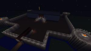 minecraft - castle night