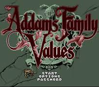 Addams Family Values - SNES