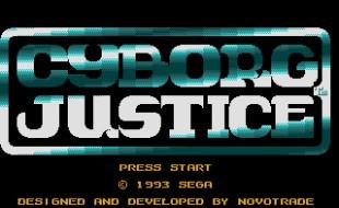 Cyborg Justice – Sega Genesis