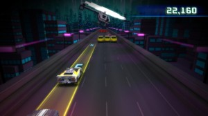 Scale Racer mini-game