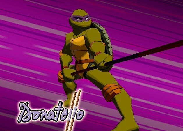 TMNT Gamecube donatello