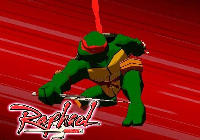 TMNT gamecube Raphael