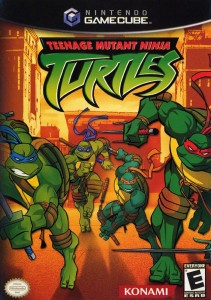TMNT gamecube cover art
