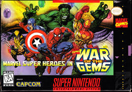 Marvel Super Heroes in War of the Gems – SNES