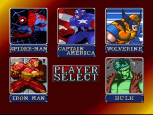 Marvel Super Heroes War of the Gems