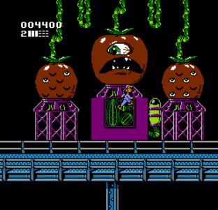 attack of the killer tomatoes boss fight nes