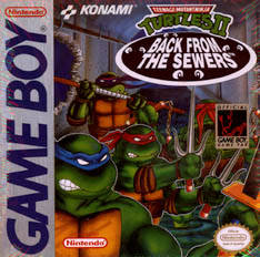 Teenage Mutant Ninja Turtles 2: Back from the Sewers – Game Boy