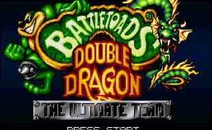 Battletoads and Double Dragon – SNES