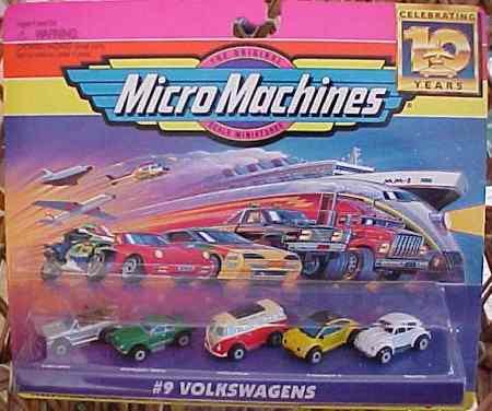 hot wheels micro machines