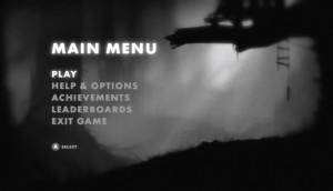 limbo main menu
