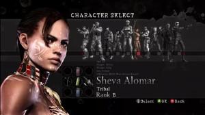 RE: Mercenaries Character Select