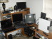 This is how my old desk used to look before I built my monster machine