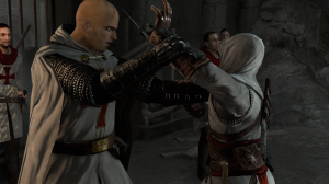 Needless to say, Altaïr is not a very stealthy Assassin.
