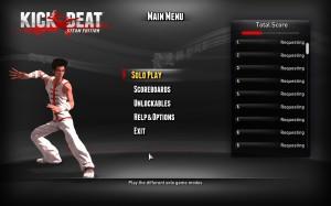 Kickbeat Main Menu