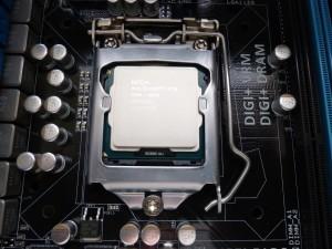 P8Z77 - V CPU Installed