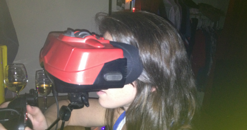 David's Fiance and the Virtual Boy