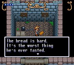So, you're telling me it's prison food. Gotcha.