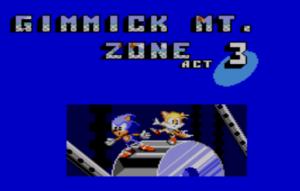 Gimmick Mountain huh? Sounds like Sega alright.