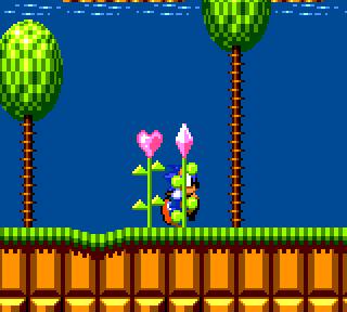 Sonic 2 GG Green Hills Zone