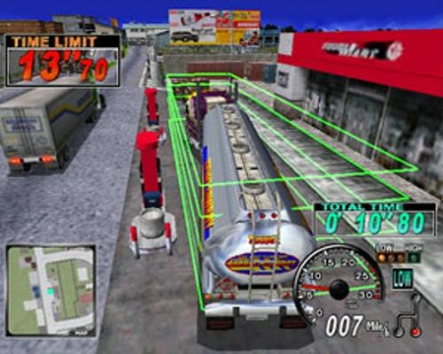 This mini-game sure looks a lot like Crazy Taxi... huh?