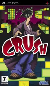 CRUSH PSP Cover art