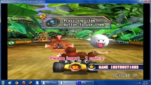 Mario Kart Arcade on Dolphin