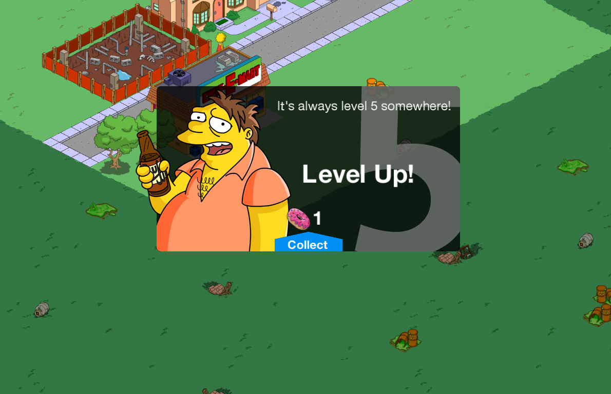 The-Simpsons-Tapped-Out-Level-up