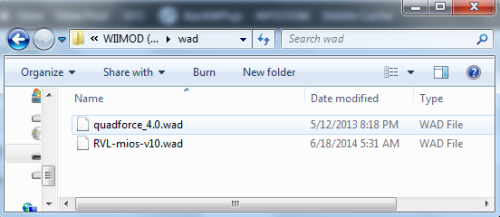 Wad Folder