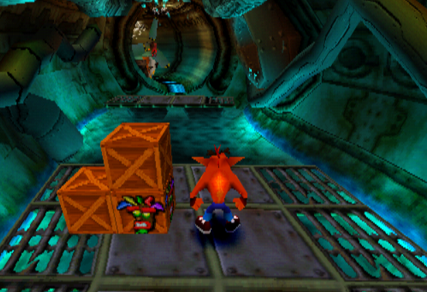 crash bandicoot 2 - sewer 1