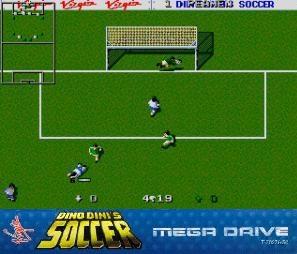 dino dinis soccer Mega Drive