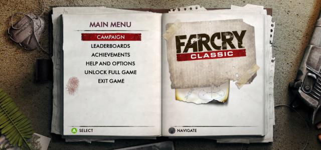 Far Cry Classic – Xbox 360