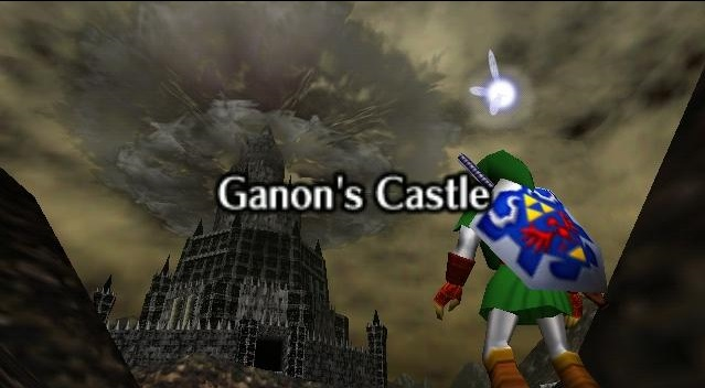 N64 Zelda Ganon's Castle