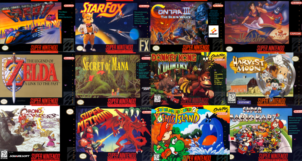 15 Games That Should Have Been In The SNES Classic