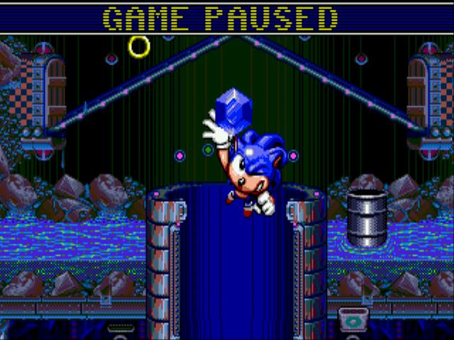 Sonic Spinball Gen