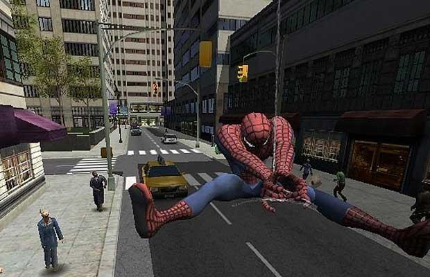 Swinging as spidey is one of the more fulfilling aspects of the game.